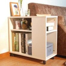 Консольный стол, мебель для дома, деревянный боковой стол, стол basse, минималистичный Рабочий стол с книжными полками, стойка 80*30*56,8 см