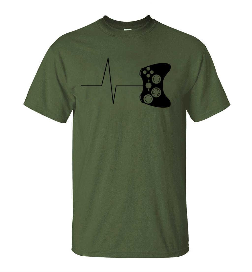 Para gamer, camisetas divertidas, camiseta de videojuegos, camiseta para hombre, verano 2019, nueva novedad, camiseta de manga corta, camisetas 100% de algodón