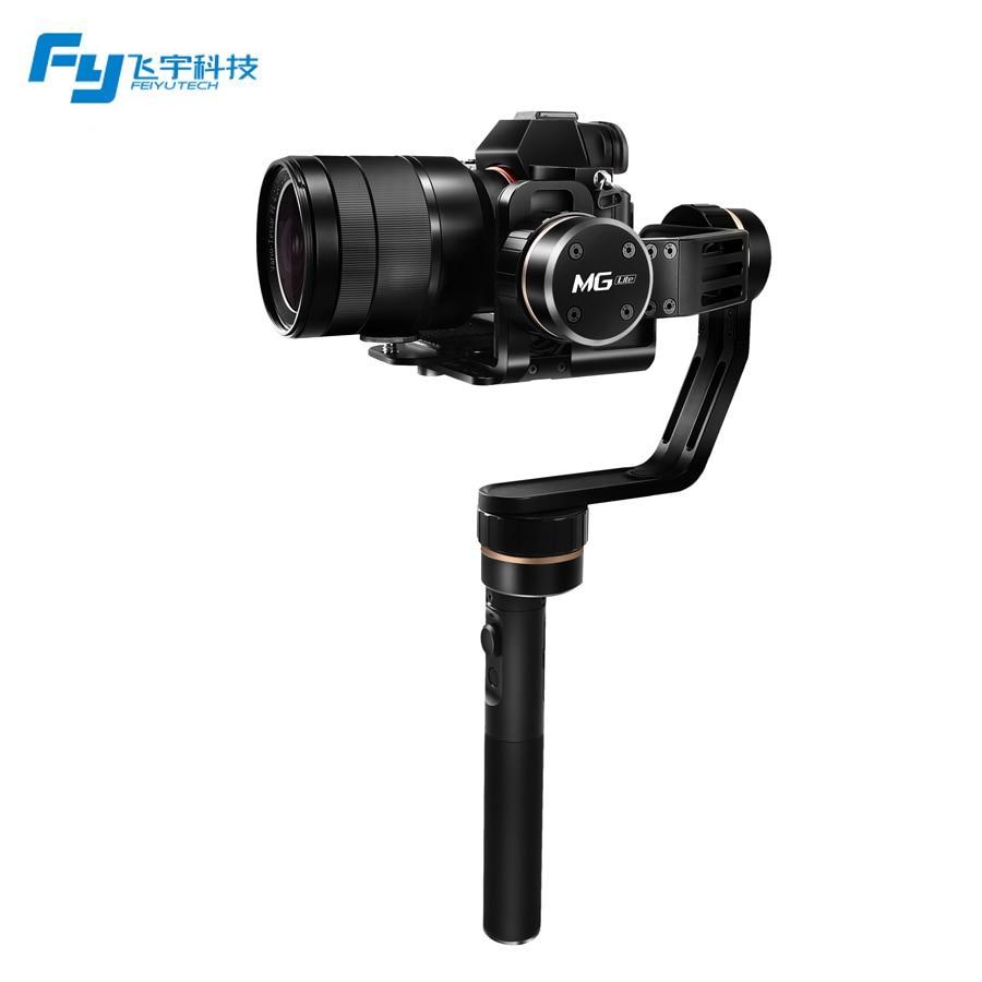 Feiyu MG Lite 3-Axle Brushless Handheld Gimbal Stabilizer for DSLR SLR Camera PK Crane M