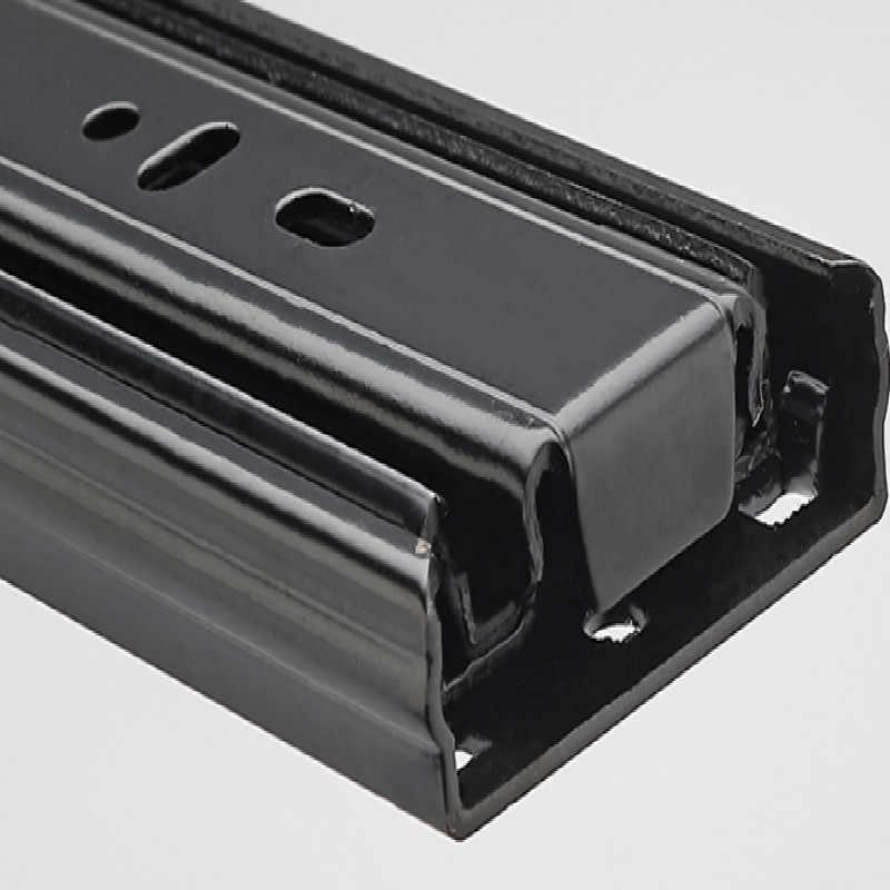 drawer slide With damping drawer rail keyboard tray slides soft close drawer slides schuifdeur rails free shipping