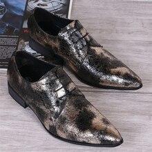 2016 britische Art Echtes Leder Männer Schuhe Geschäfts Formalen Männer Oxfords Lace Up Schuhe Spitzschuh Schuhe Herren wohnungen