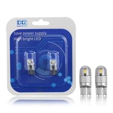 купить 2PC High Power T10 3030 2SMD Super Bright LED Car Width Lamp Automobiles License Plate/Reading/Turn Signal Light Bulb Auto Parts дешево