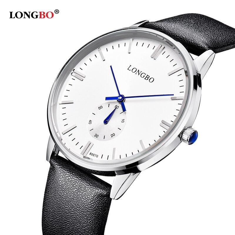 LONGBO reloj de los hombres la marca de lujo superior famosa relojes - Relojes para hombres