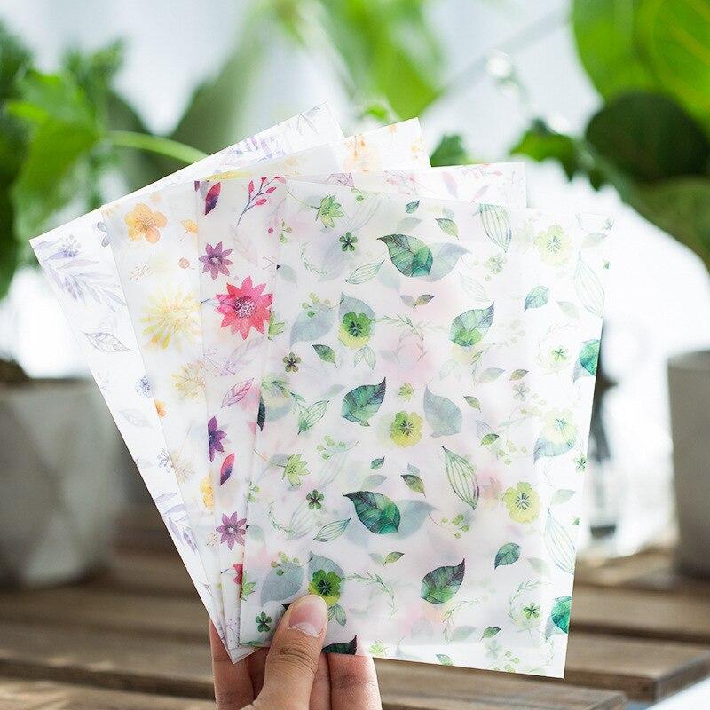 40 Teile/satz Cartoon Lackmuspapier Geschenk Fensterbriefumschläge Pflanzen Transparente Farbe Sobres Umschläge Größe 175*125mm 4 Farbe Post- & Versandmaterialien Papierumschläge