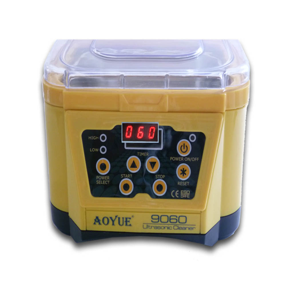 AOYUE 9060 70W Digital Ultrasonic Cleaner 1L Electronic Components Cleaner Jewelery Cleaner квикдекор старый канал в лесу вар 1 ap 00569 15651 v1 9060