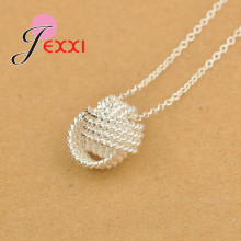 Hot Selling 100% Pure 925 Silver Detachable Solid Adjustable Three Layers Pearls Form Delicate Wedding Necklace