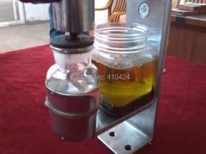 Image 3 - Handmatige Olie persmachine olieverdrijver Rvs 304 food grade
