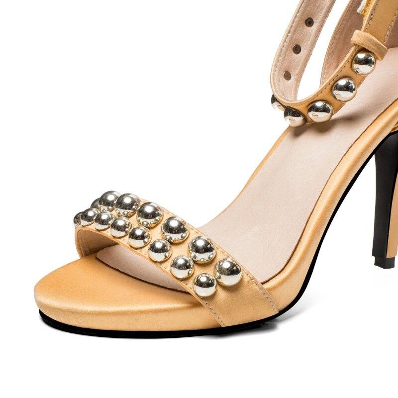 Doratasia Cuero Para Grande Black Yellow Heel Talla Moda Mujer A34j5RL