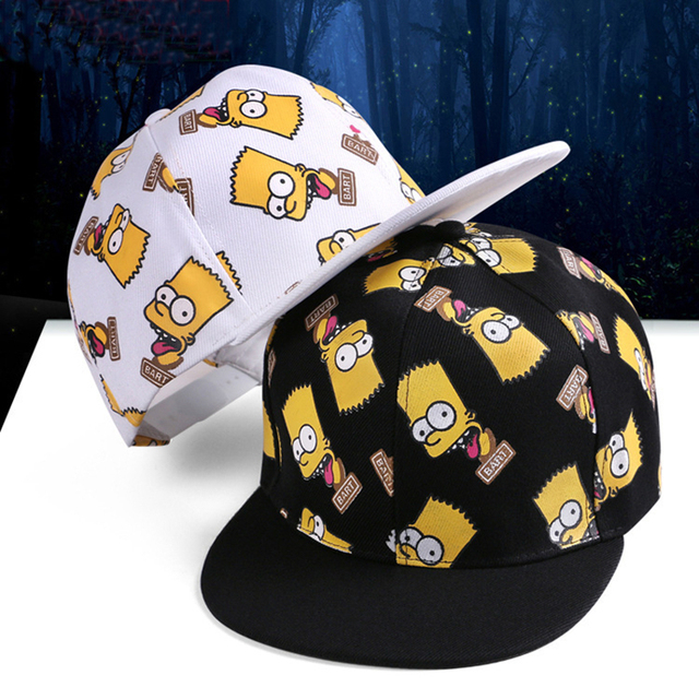 2015 new van baseball cap snapback Simpson hats hiphop hats for men  sombrero panel cartoon Printing casquette caps supreme hat bd3cce89015