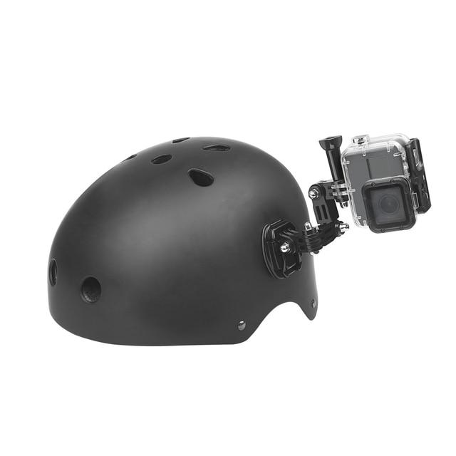 SHOOT Adjustment Base Mount for gopro hero 8 7 5 xiaomi yi 4k sjcam sj4000 sj7 Action Camera Tripod Helmet Belt Mount Accessory 5