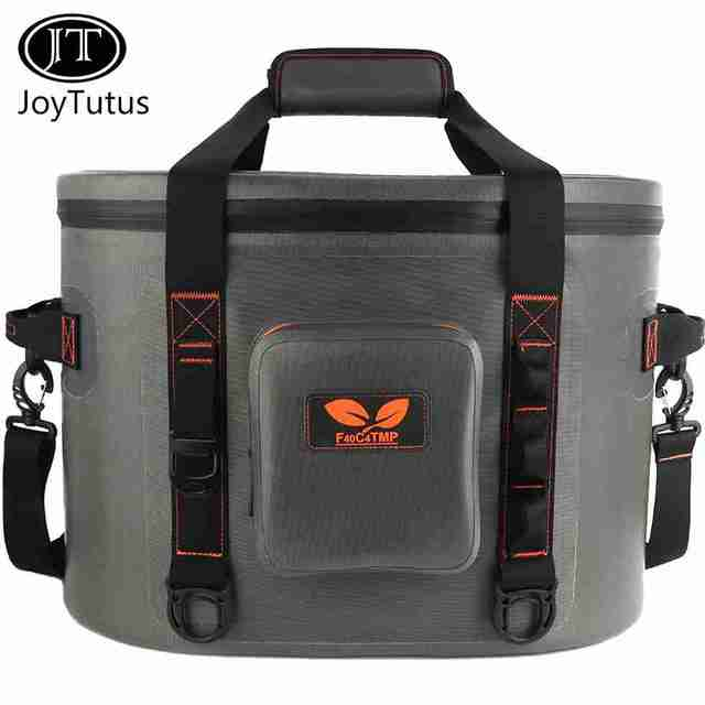 JOYTUTUS 30 can soft cooler bag Picnic bag soft pack ice chest Beer Fish Wine Lunch Portable Cooler bags Beach Kitchen Camping