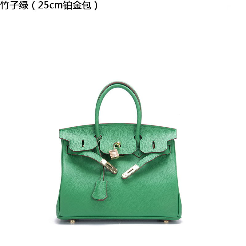 2019 New Lychee Pattern Female Handbag First Layer Leather Platinum Bag Leather One Shoulder Ladies Portable Diagonal Package2019 New Lychee Pattern Female Handbag First Layer Leather Platinum Bag Leather One Shoulder Ladies Portable Diagonal Package