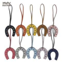 Jellyooy Beachkins новая модная обувь из кожзаменителя U Форма сумка подвески 10 Цвета Подкова мешок орнамент для Сумки