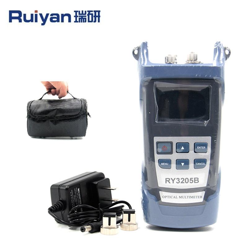 Optical Multimeter RY3205B Light Power Meter Red Light Source RY3205B 20 Mw Visual Fault LocatorOptical Multimeter RY3205B Light Power Meter Red Light Source RY3205B 20 Mw Visual Fault Locator