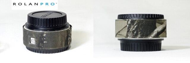 ROLANPRO カメラレンズ迷彩レインカバーレインコートため一眼レフカメラバーロー銃服レンズバーロー保護スリーブ