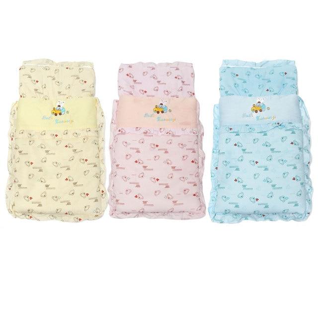 Infant Newborn Baby Children Warm 100% Cotton Two-way Zipper Sleeping Bag  Lovely Pattern Quilt Blanket Swaddle For Kids