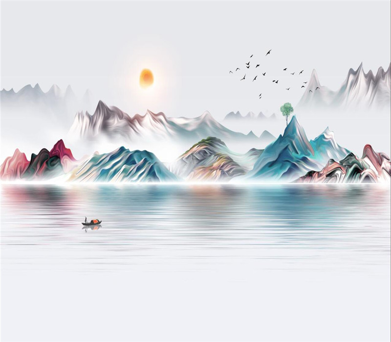 Creative artistic concept wall professional production wallpaper mural custom poster photo