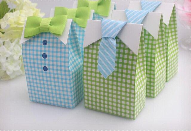 25 Pcs Creative New Light Blue Green Wedding Favors Baby Shower