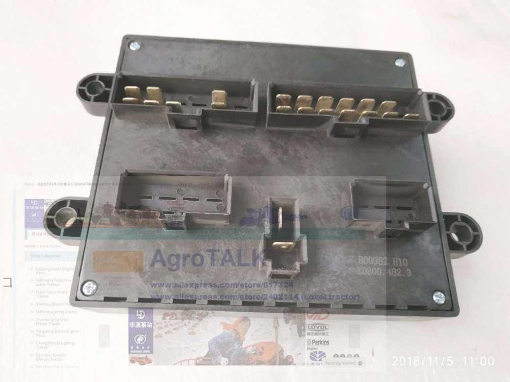 foton lovol td series tractor parts, the fuse box assembly, part  number:td800