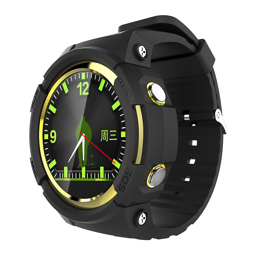New Arrival Round Screen Smart Watch Wearable Devices with MTK2503 Sedentary Passomete GPS SOS Watch Wristwatch for Kid Old Man new arrival multi function wearable devices curved screen watch phone push message calories calculation alarm clock stopwatch