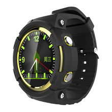 New Arrival Round Screen Smart Watch Wearable Devices with MTK2503 Sedentary Passomete GPS SOS Watch Wristwatch for Kid Old Man