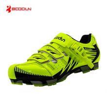 BOODUN New Design Cycling Shoes Men Outdoor Mountain Bike Shoes Self-locking MTB Shoes Non-slip Bicycle Shoes Sapatos