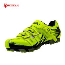 Boodun nowy projekt buty kolarskie mężczyźni odkryty mountain bike buty samohamowność buty antypoślizgowe buty rowerowe mtb sapatos