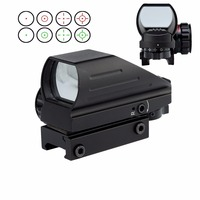 Spike Tactical Multi Optical Coated Holographic Red And Green Dot Sight Tactical Reflex 4 Different Reticles