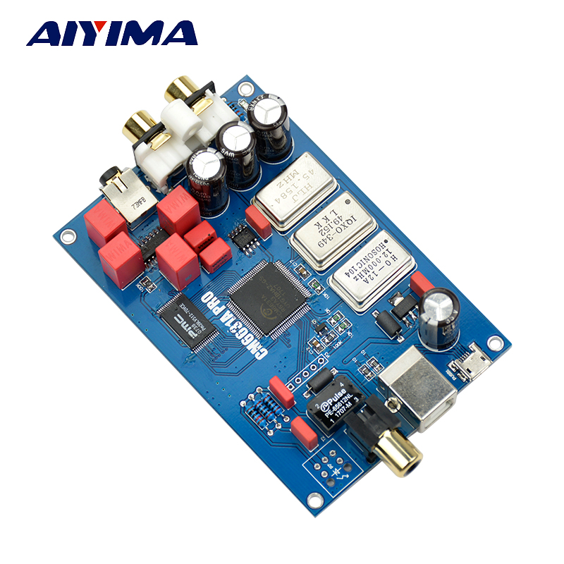 2017 CM6631A Digital interface 32 / 24Bit 192K Sound Card USB to I2S / SPDIF Coaxial Output Support Connect Decoder Upgrade DAC hi fi cm6631a 192khz to coaxial optical spdif convertor dac board 24bit usb 2 0