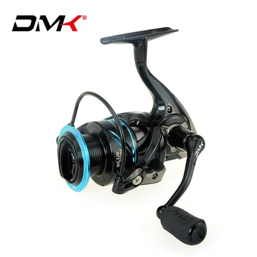 DMK Fishing Spinning Reel Smooth High Hardness bearing 10 1 Gear ratio 5 2 1 for