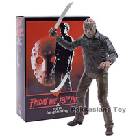 NECA Friday the 13th A New Beginning Jason Voorhees PVC Action Figure Collectible Model Toy