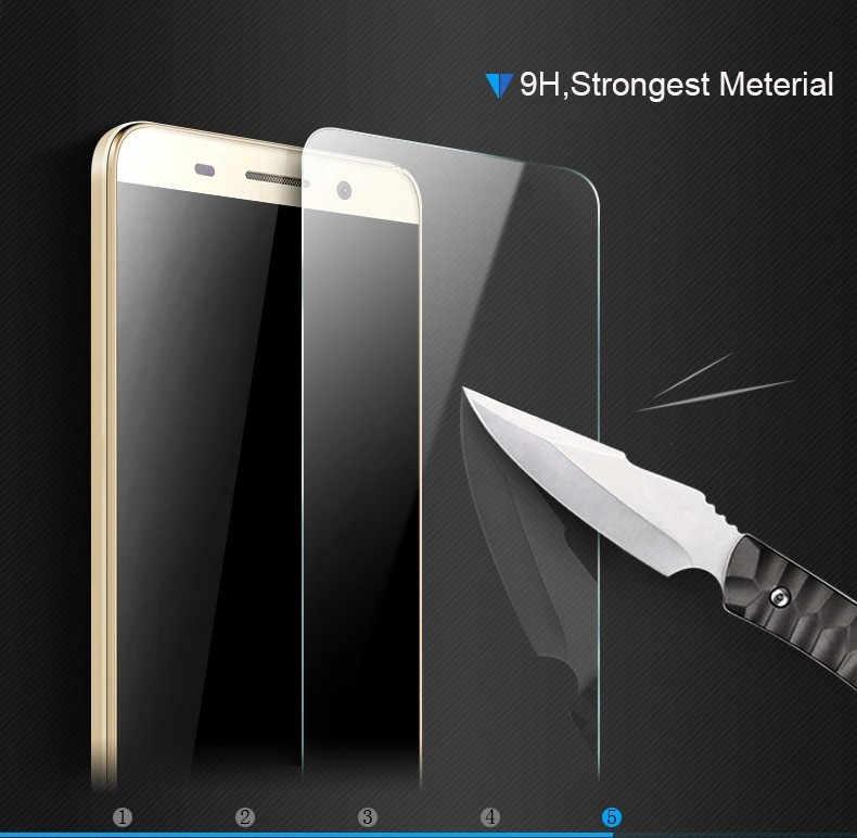 Smartphone de vidrio templado para DEXP G250 de 9 H a prueba de explosión de película protectora de pantalla Protector de la cubierta del teléfono
