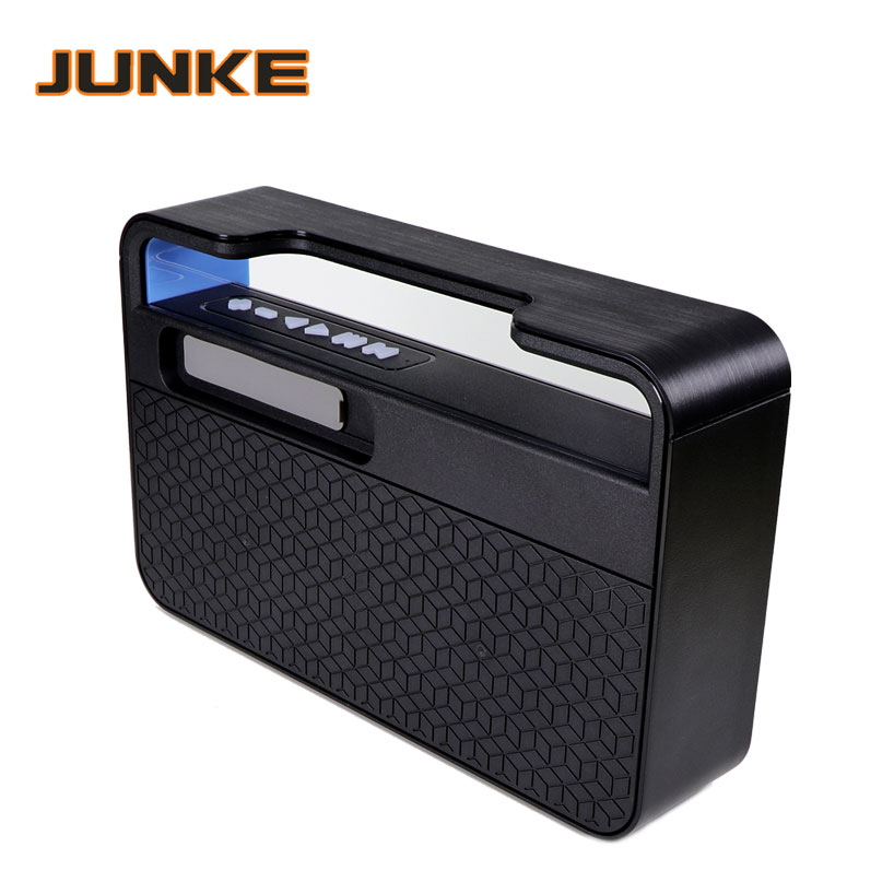 Portable HIFI Wireless Stereo Super Bass Caixa Sound Box HandFree for Phone power bank 10W 2000mah FM Radio P7 bluetooth speaker in Portable Speakers from Consumer Electronics