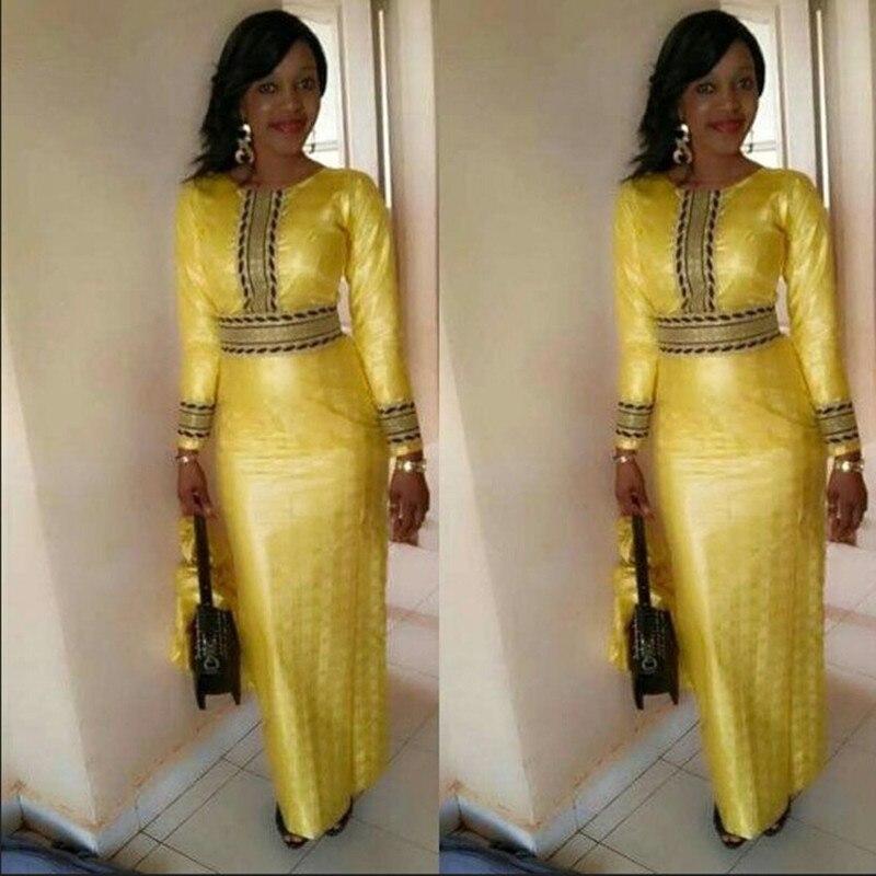 Amazon style chaud dollars européens led épissage à manches longues A83694 vitesse vendre tong afrique longue robe jupe