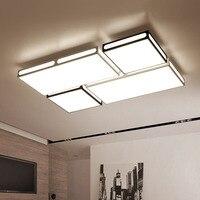 Moderno led luzes de teto sala estar luminárias quarto lâmpadas teto iluminação da sala estudo casa iluminação teto|Luzes de teto| |  -