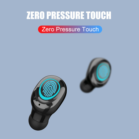 VOULAO Wireless Headphone S11 TWS Bluetooth Earphones 9D Stereo Earbuds With 1800mAh Power Bank Bluetooth V5.0 Wireless Headset Islamabad