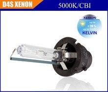 Com caixa de cor venda de Fábrica 100% OEM original D4S 4300 K Quente branco 5000 K branco frio CBI HID Xenon bulb para farol do carro lâmpada