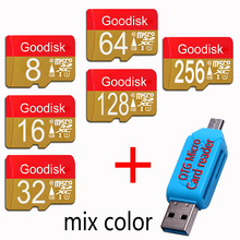 Goodisk Micro SD Card 8GB 16GB Memory Cards 32GB 64GB 128GB Class10 Flash MicroSD TF Card for Smartphone Pad Camera 32 gb flash