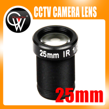 5MP 25mm lens Board cctv Lens MTV IR CCTV Lens HD camera M12 Mount suitable for 1/3″ & 1/2″ CCTV IP Camera Security Camera