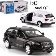 CAIPO 1:43 Audi Q7 модель автомобиля из сплава, литой металл, модель автомобиля для мальчиков, коллекция игрушек, подарок для детей