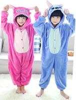 Lilo & Stitch Flanell Kostüme Overall Für Kinder Kinder Onesie Pyjamas Cosplay Kleidung Für Halloween Karneval