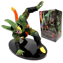 2016 One Piece Anime Dragon Ball Z 15cm Cell Action Figures Toy KidsToys for Children Adult Birthday Christmas Halloween Gift