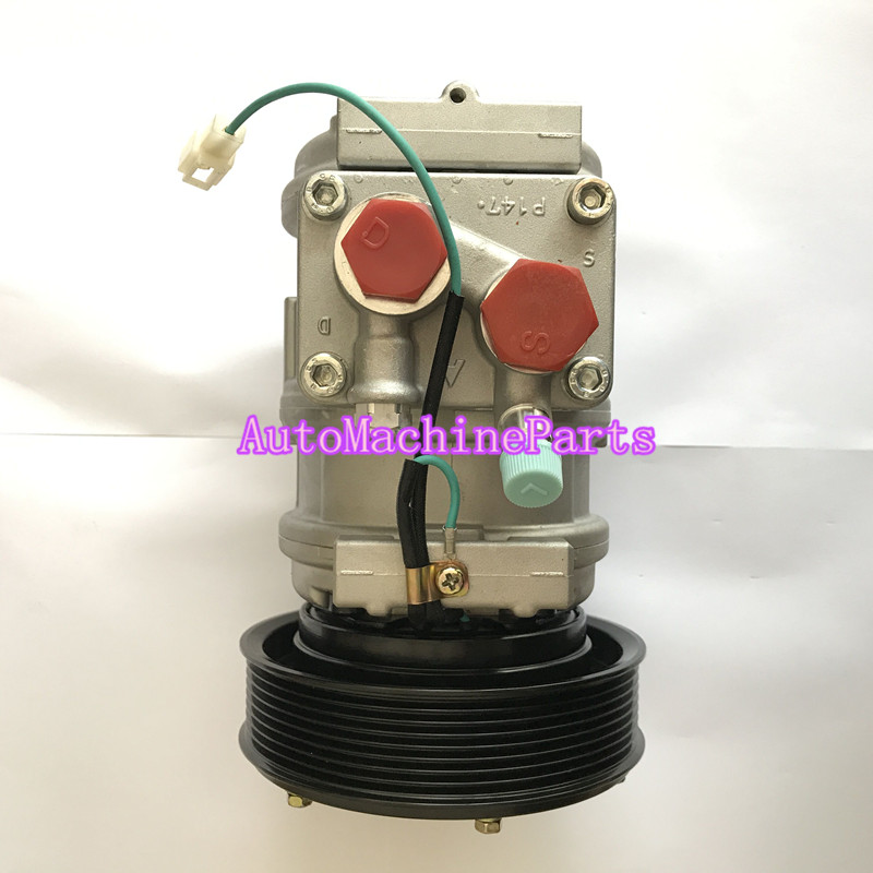 New AC Compressor 447200-5031 for John Deere Tractor Denso 10PA17C new ac compressor 84094705 for volvo fh fh12 fh16 fm sd7h15