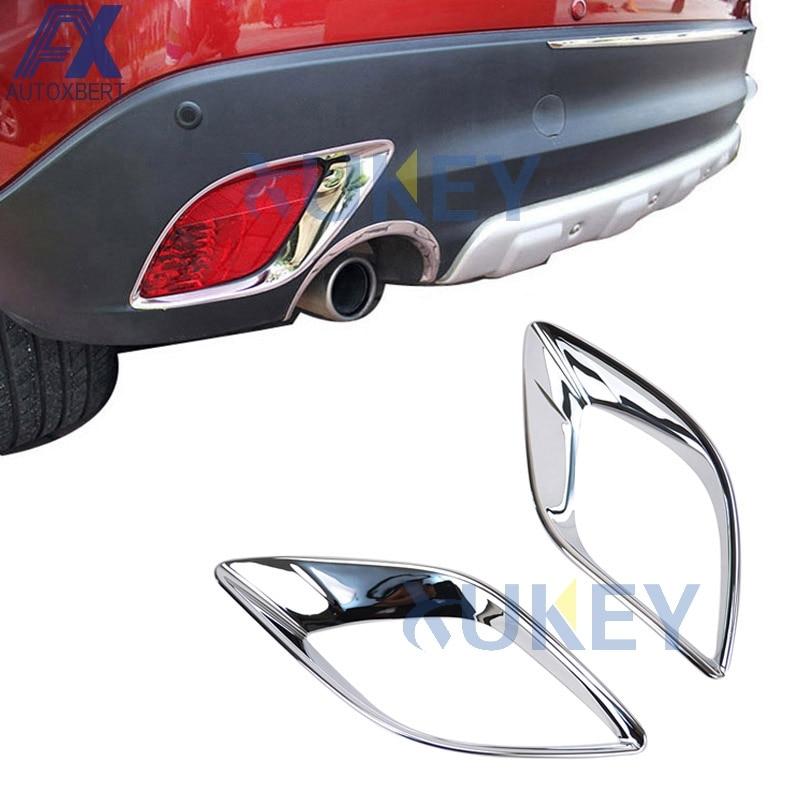 AX для Mazda Cx-5 Cx5 2012 2013 2014 2015 2016 хромированный задний отражатель, противотуманный светильник, противотуманный светильник, крышка лампы, накладк...
