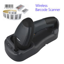 Scanhome 433Mhz Wireless Barcode Scanner Portable Handheld Scan Bar Code Reader W/Base 1D USB Barcode Scanner Wireless 1D Reader