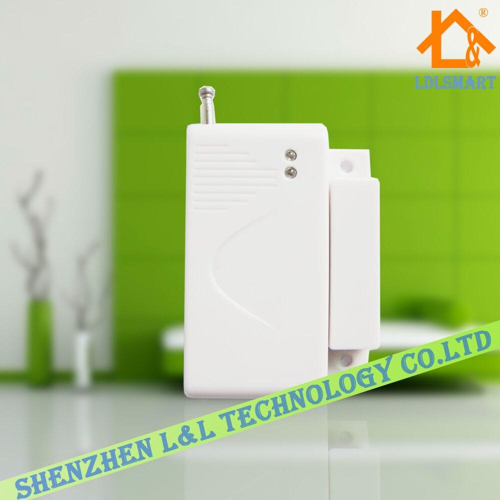 433MHz Wireless Door/Window Sensor for Wireless GSM Home ...