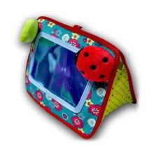 Детская подвесная коляска на колесиках, подвесное Когнитивное зеркало, безопасное зеркало, детская игрушка