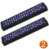 2PCS Dimmable 300W LED Aquarium Grow Light Full Spectrum For Reef Coral LPS/SPS