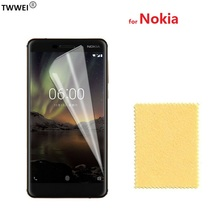 купить Protective Film Screen Protector for Nokia 2.1 3.1 5.1 6.1 7.1 Plus for Nokia 7 Plus 6 5 3 LCD Screen Protector Film Foil дешево