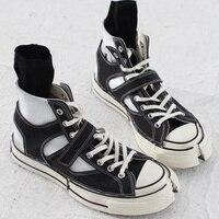 Холст Для женщин сапоги бренда шикарный носок сапоги на шнуровке спереди Женские туфли лодочки Женская обувь, смешанные цвета полусапожки